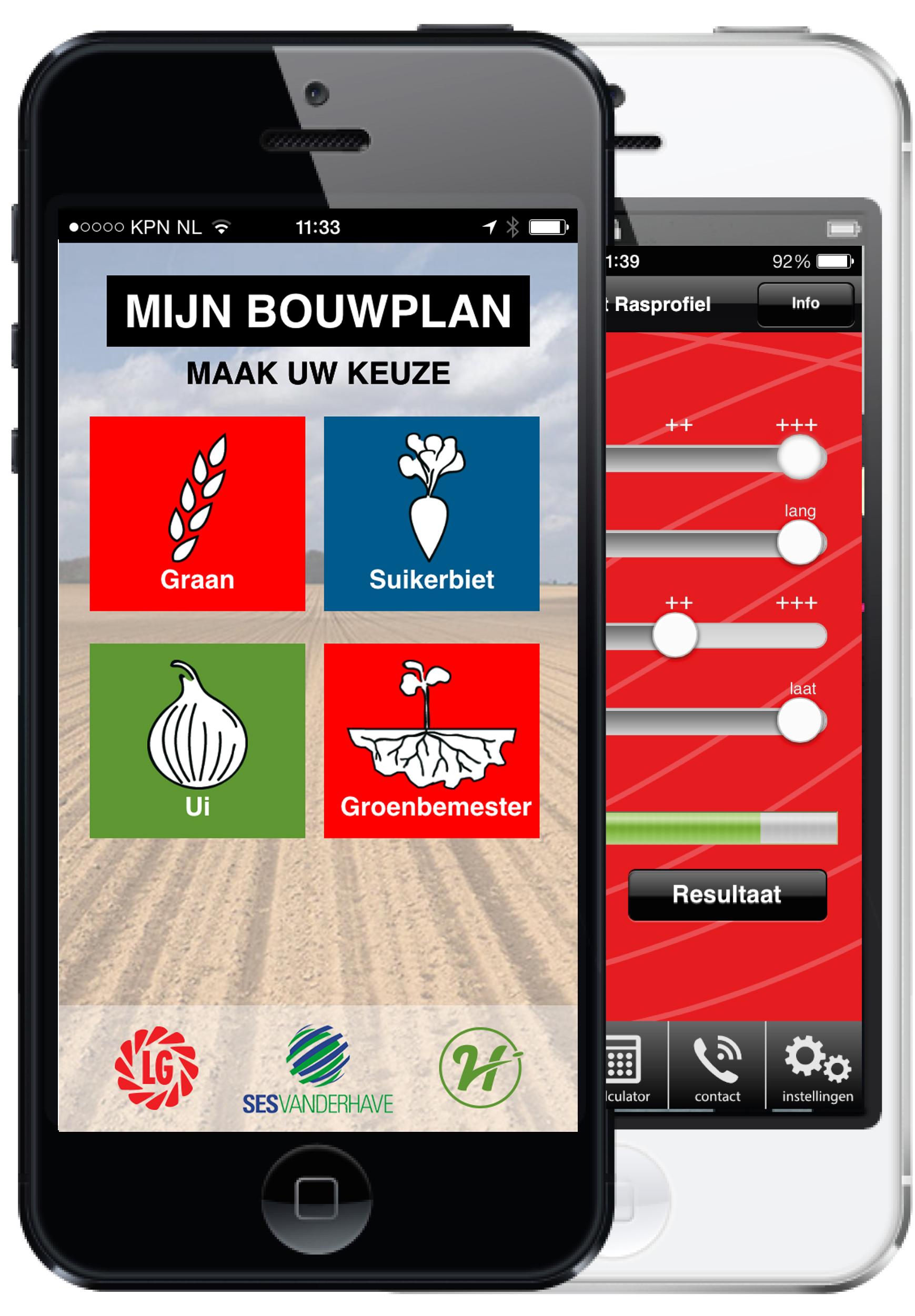 voorstelling app scherm telefoon